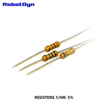Resistor 100K Ohm, 1/4W, 5%, DIP (TH) (pack 100 PCS)