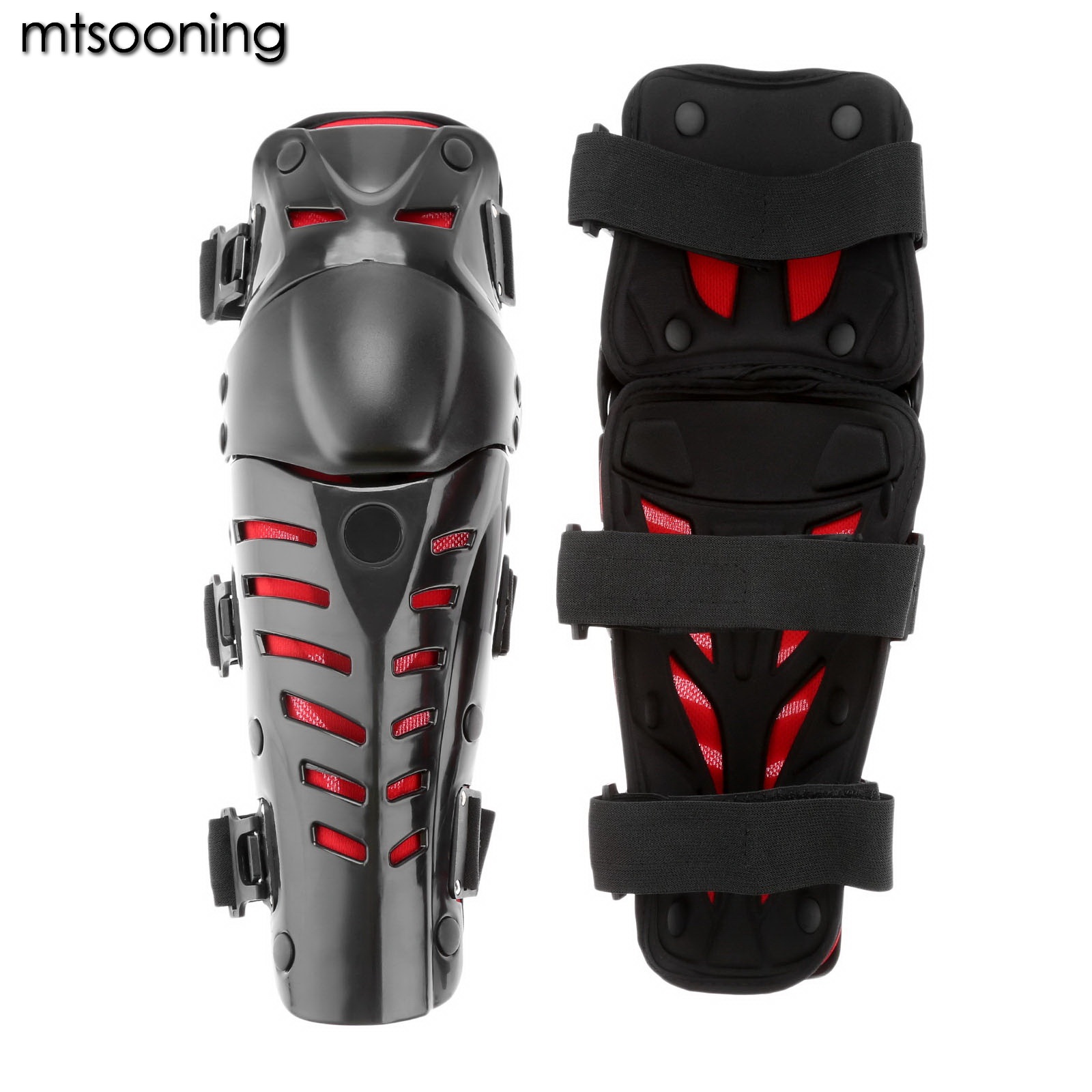 mtsooning Motorcycle Knee pad Protector New Protective Hard kneepad Scooter Motorbike Racing Guards Safety Gears Race Brace
