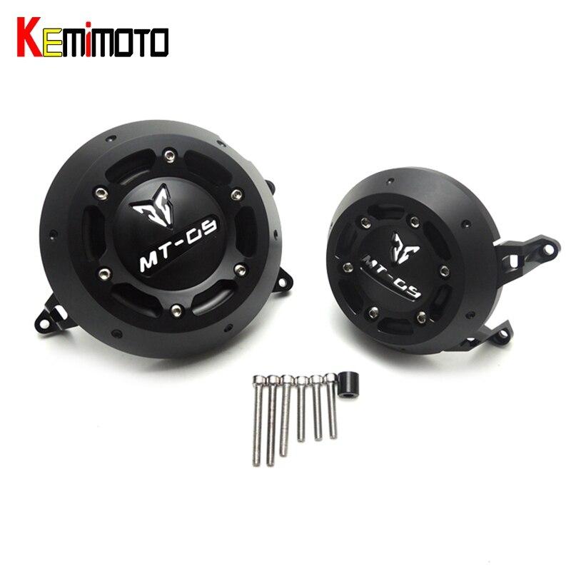KEMiMOTO 2017 новый МТ-09 МТ 09 MT09 Tracer для Ямаха МТ-09 защита двигателя Чехол слайдер Крышка протектор комплект 2013-2017