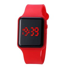 Simple Children's Watch Digital LED Electronic Watch Student