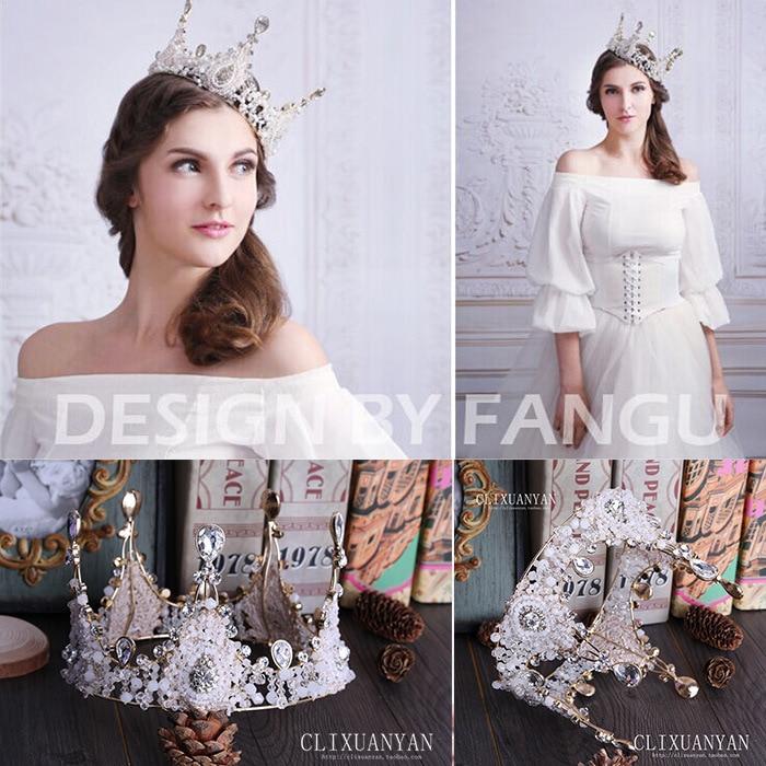 Manik-manik buatan tangan bulat, Eropa besar mahkota bulat, Kaca - Perhiasan fashion - Foto 2