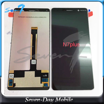 Touch Screen Digitizer Assembly LCD Screen For Nokia E7 N7 Plus TA-1062 LCD Display Assembly