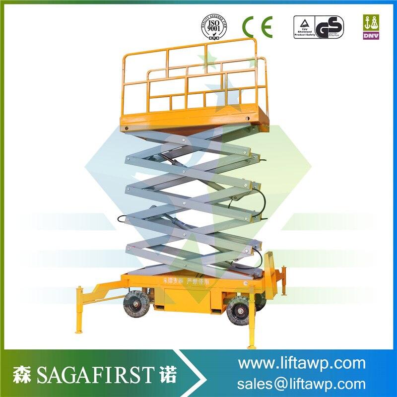 Top Quality 4 -18m Hydraulic Mobile  Hydraulic Scissor Lifter Table Platform