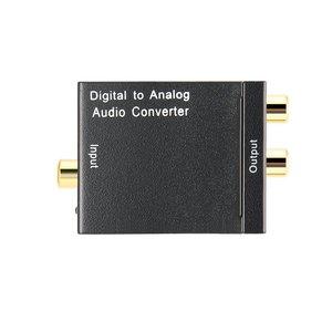 Image 5 - TV Audio Converter Digital To Analog Converter Digital Optical Coaxial RCA Toslink Signal to Analog Audio Converter Home Theater