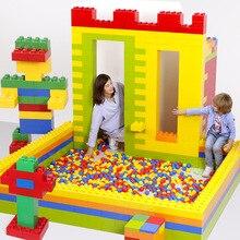 Большие строительные блоки 25,5*12,5*6,5 см, сборные замок, большие кирпичи для украшения дома, сделай сам, различные модели, стул, стол, настенные игрушки