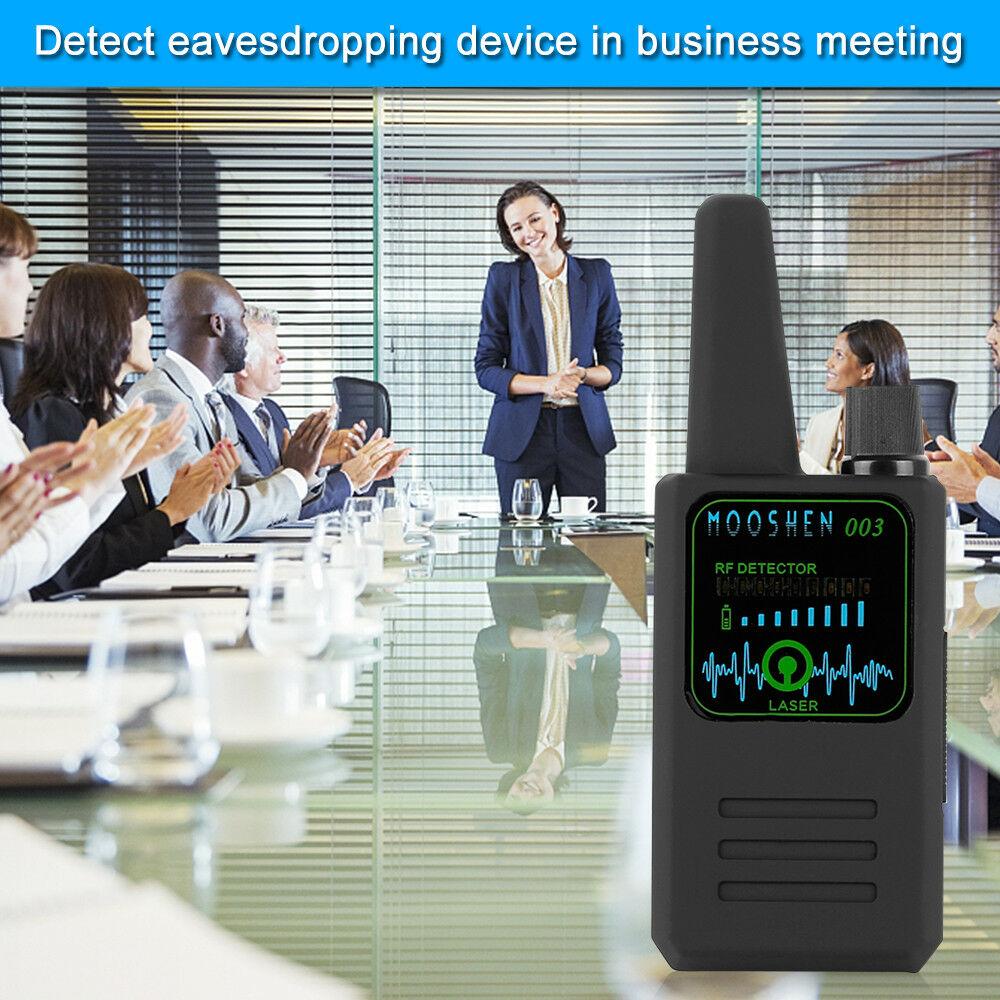NEW M003 Multi-function Anti-spy Detector Camera GSM Audio Bug Finder GPS Signal Lens RF Tracker Detect Wireless Detector