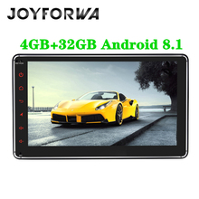 7 1Din Android 8.1 Octa-core Car Stereo Auto Radio Multimedia Player Head Unit GPS Glonass DVR OBD Subwoofer Bluetooth DAB WIFI 92 5d curved touch screen single din octa core 4gb 32gb universal android 8 1 car stereo radio multimedia obd player head unit