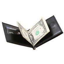 New Brand Luxury Business Man font b money b font font b clip b font wallet