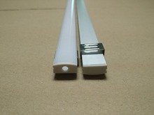 Free Shipping 1000mmX16.8mmX10mm Aluminum LED Profile for various LED strips/aluminum extrusion/squar aluminum led profile  цены