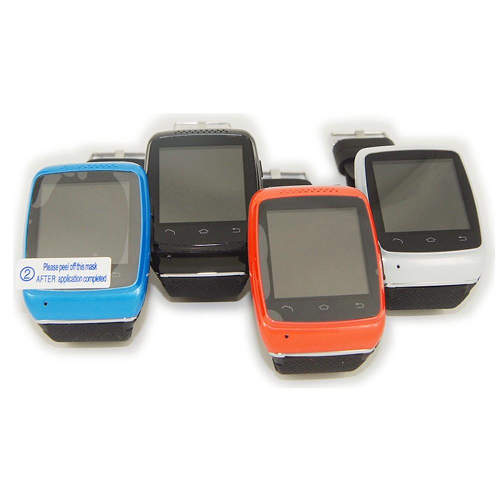новый часы-смартфон на iOS 1.54 'дюймов наручные часы для умный телефон с прямым набором синхронизации SMS или телефонный звонок, бесплатная доставка