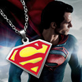 """Stainless steel necklace Super man, film and television """"S superman superman logo accessories wholesale"""