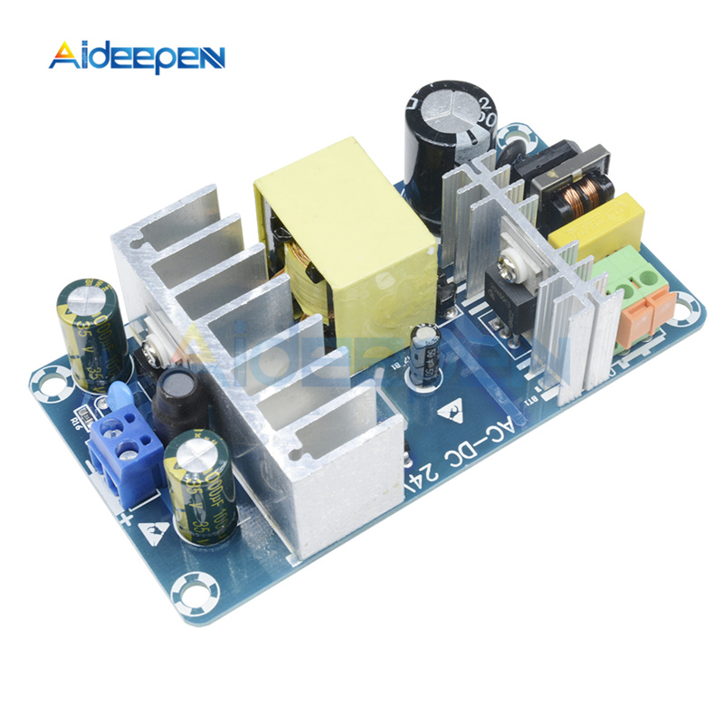 AC 85V-265V to DC <font><b>24V</b></font> 100W <font><b>4A</b></font>-6A Stable High Power Switching Power Supply Board Power Transformer Step Down Voltage Regulator image