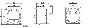 Image 4 - 2ชิ้นแผงVUเมตรอุ่นกลับแสงตัวชี้วัดระดับเสียงสำหรับลำโพงเครื่องขยายเสียง