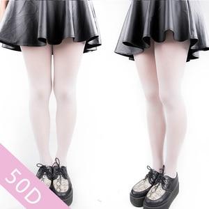 Image 3 - women girl female Aloe white velvet pantyhose stockings cosplay 2Pair / Lot tights