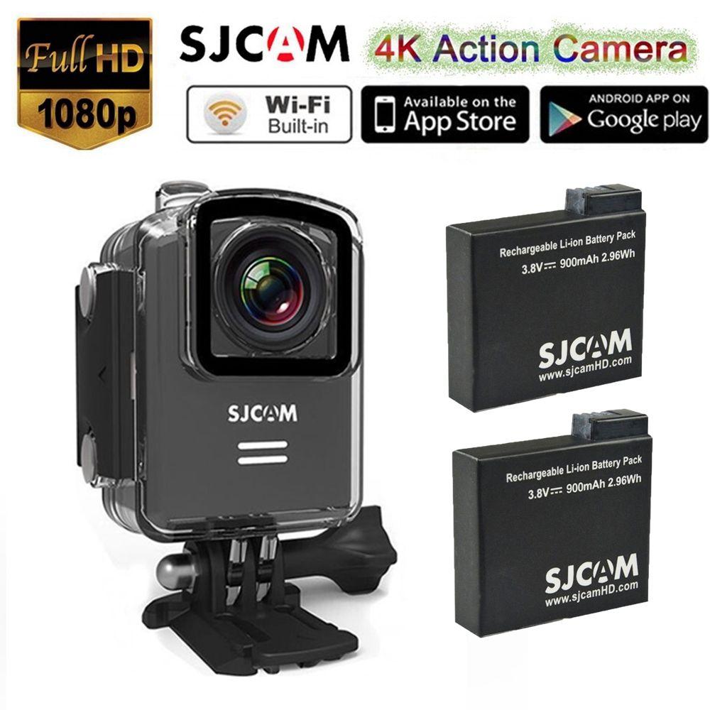 SJCAM M20 24fps Novatek 96660 WiFi 4 K Ultra HD 1080 P Mini DVR Se Divierte La C