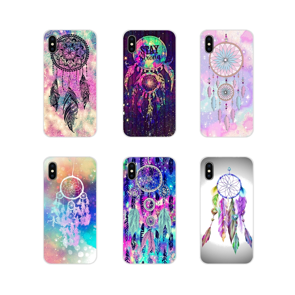 Чехлы для мобильных телефонов Huawei P Smart Mate Honor 7A 7C 8C 8X 9 P10 P20 Lite Pro Plus Pretty Mandala Tribal feather Dreamcatcher image