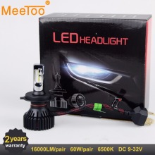 H7 LED H4 LED Car Lights H11 LED Auto font b Lamps b font HB4 HB3