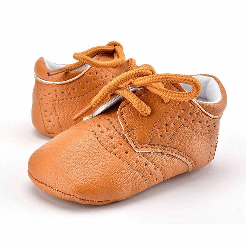 1 זוגות אופנה עור בהיר תינוק נערי נעליים מזדמנים בנות רך נעליים פעוטה החלקה סוליית גומי הלמידה Walk לשחק מחצלות