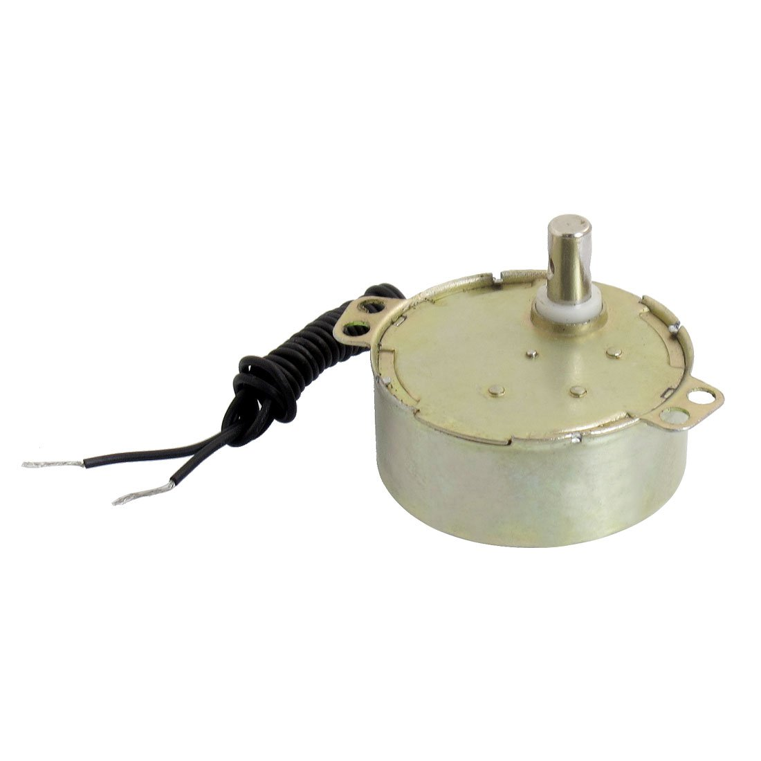 Microwave Oven Synchronous Motor 5/6RPM AC 220-240V 50/60Hz CW/CCW w Black CableMicrowave Oven Synchronous Motor 5/6RPM AC 220-240V 50/60Hz CW/CCW w Black Cable