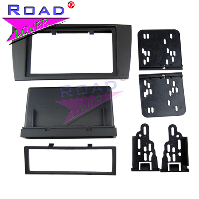 TOPNAVI 2 Din Car Audio frame Panel Car Radio fascia for JAGUAR S&X 2003-2008 Auto Air C ...