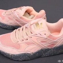 91ebd4d8f08 Nieuwe Originele Aankomst PUMA Ontbranden Sneakers Schoenen vrouwen schoenen  Ademend Badminton Schoenen Maat 36-40