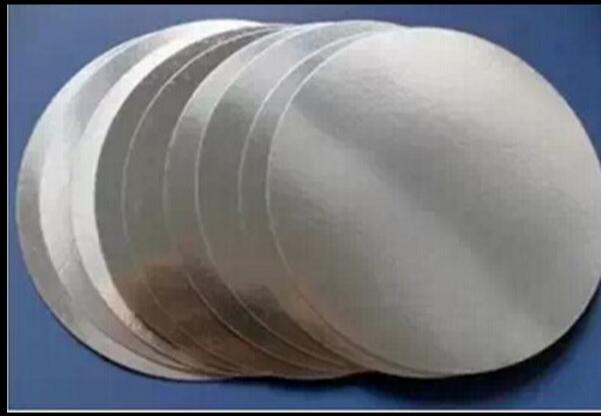 For induction sealing plactic laminated aluminum foil lid liners 11000pcs