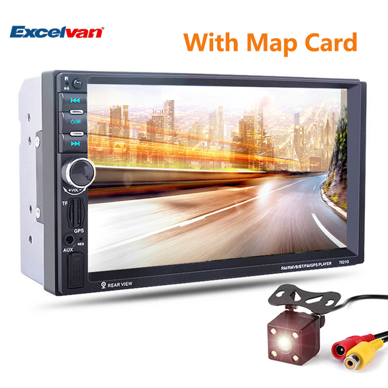 """7/"""" 2DIN Car MP5 Player Bluetooth AUX//Audio//Video//USB Support Rearview Camera"""