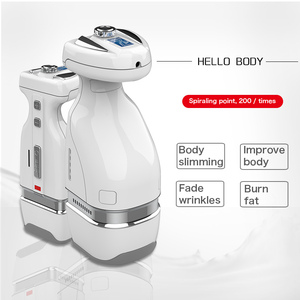 Image 2 - 2019 Newest Mini HIFU RF Slimming Body Belly Fat Removal Massager 2IN1 Handy HelloBody Weight loss Slimming Machine