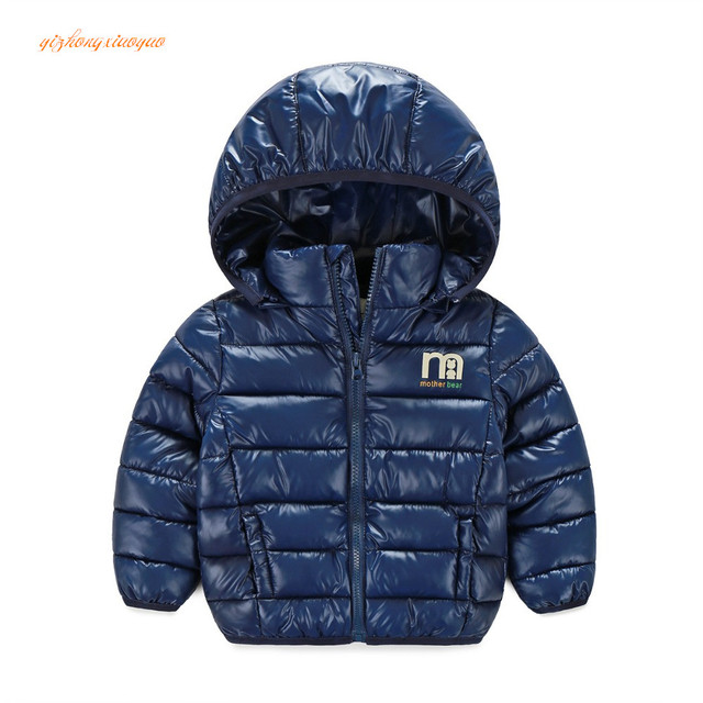 9731b850ce4e 7 24months Winter Newborn Baby Snowsuit Clothing Cotton Girls Coats ...