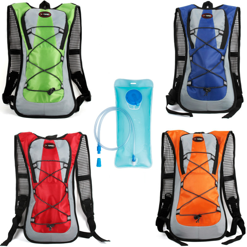 HOTSPEED Brand Cycling Water Bag Tank Backpack Hiking Motocross Riding Backpacks With 2L Water Bag MTB Bike Hydration Bladder цена и фото