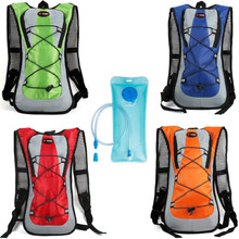 HOTSPEED Brand Cycling Water Bag Tank Backpack Hiking Motocross Riding Backpacks With 2L Water Bag MTB Bike Hydration Bladder