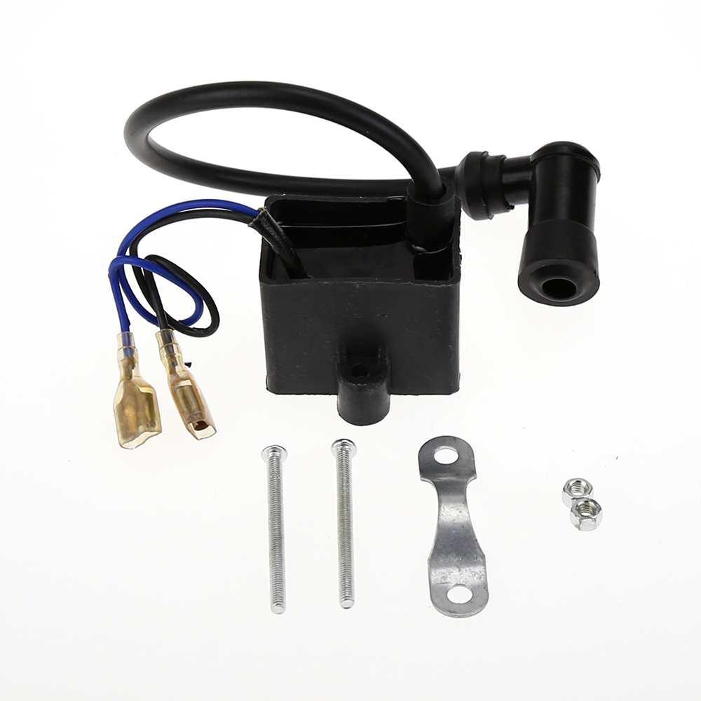 1pcs Motocycle Ignition Coil 50 cc 60 cc 66 cc 80 cc Mini ATV Pocket Dirt Bike 2-Stroke Engine Parts mpj5