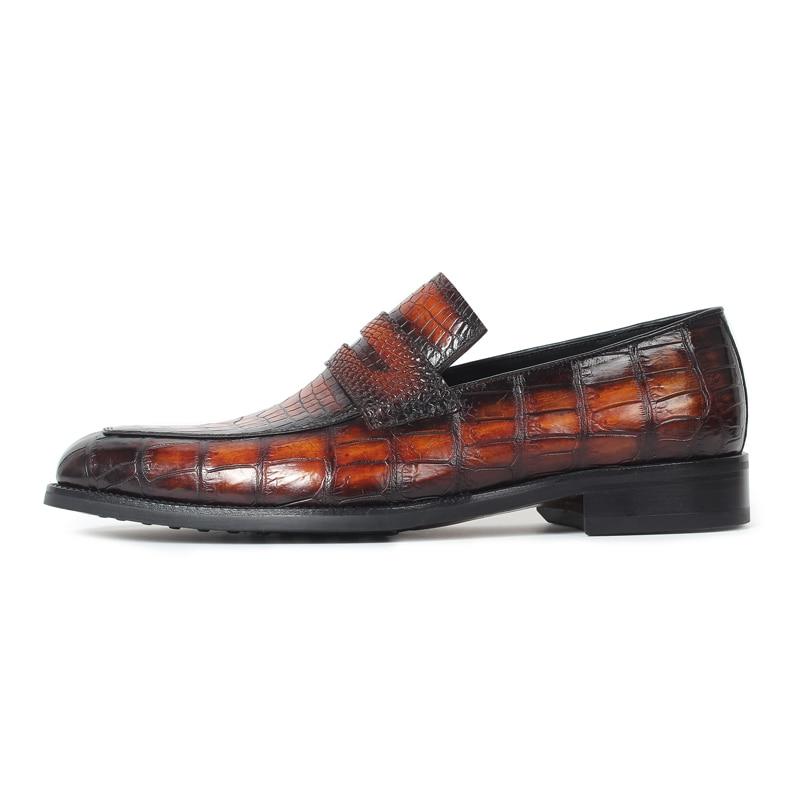 Alligator Slip-On Shoes 2