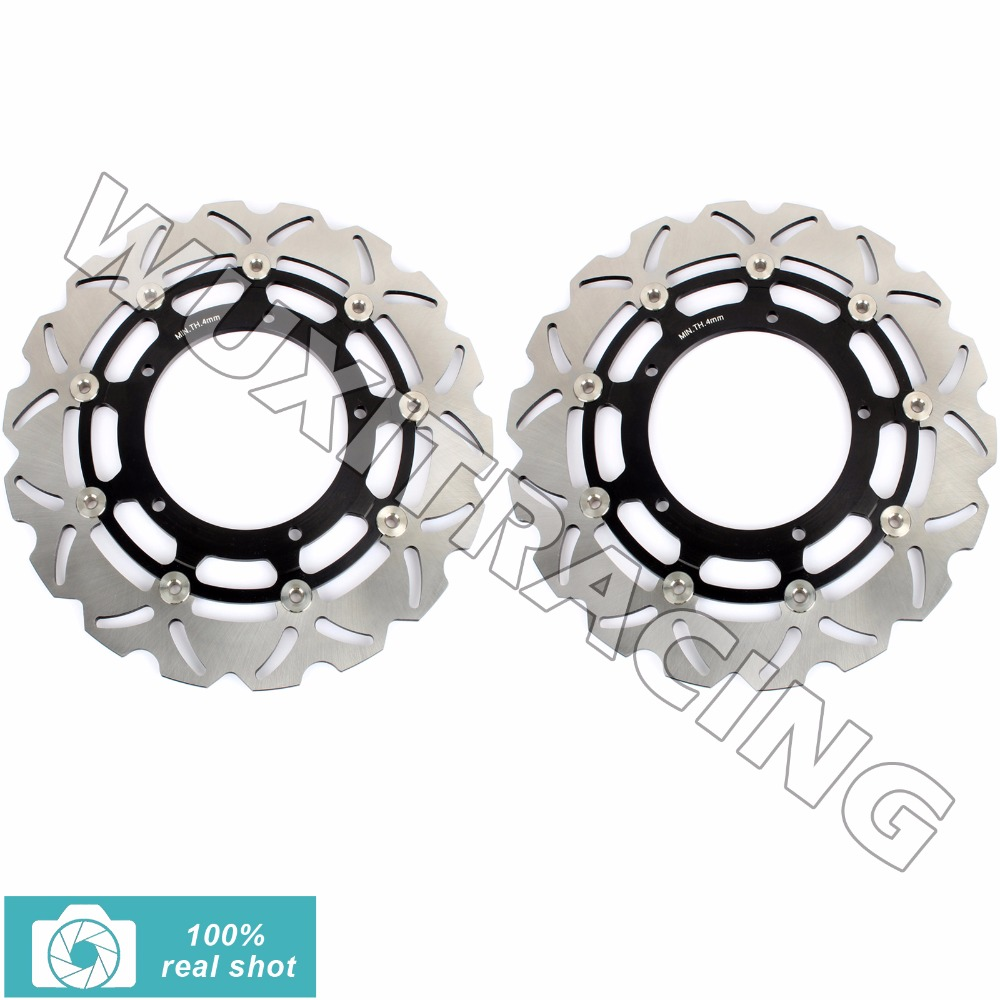 320mm New Front Brake Discs Rotors for YAMAHA FZ1 1000 N S FAZER ABS 2006-2014 07 08 09 10 11 12 13 YZF R1 100 04-16 05 15 romanson rl 4230 lr wh wh