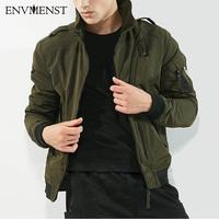 2017 Envmenst Jacket Men Winter Military Army Pilot Men's Bomber Jacket Tactical Man Jacket Coat Jaqueta Mascul Brand Clothing