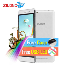 2016 Newest Original CUBOT RAINBOW 5.0 Inch Smartphone Android 6.0 MT6580 Quad-Core 1.3GHz 1GB+16GB 13.0mp 2200mAh Cell Phones