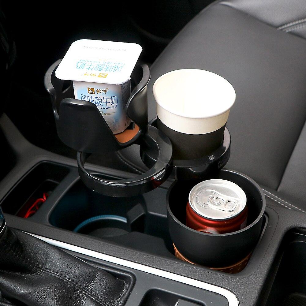 Car-styling coche organizador auto Gafas de sol bebida titular del teléfono del coche para monedas llaves teléfono Accesorios de interior
