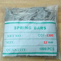 1000Pcs 12mm Stainless Steel Watch Band Spring Bars With Strap Link Pins Remove  Accessories