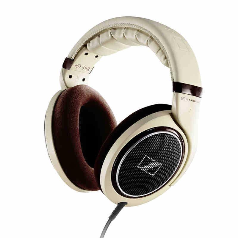 buy brand new sennheiser hd598 stereo dj monitor dynamic music headset for pc. Black Bedroom Furniture Sets. Home Design Ideas