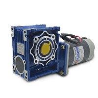 5D60GN RV30 DC12V/24V 60W 1800rpm DC gear motor worm gear gearbox high torque gear motor / output shaft diameter 18mm