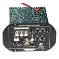 O 12 v amplificador do carro cartão de potência 120 w placa amplificador subwoofer carro tubo duplo todos frequência puro baixa freqüência é ajustável