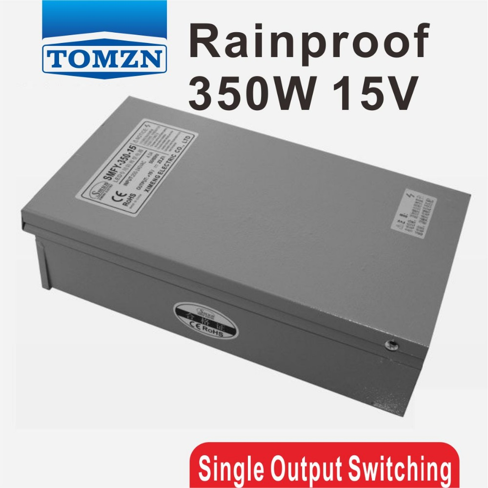 350W 15V 23.2A Rainproof outdoor Single Output Switching power supply smps AC TO DC for LED 145w 15v single output switching power supply for fsdy ac to dc