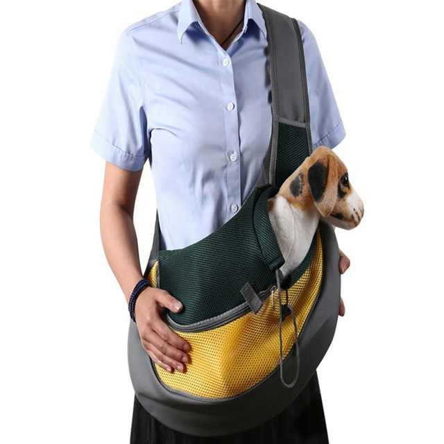 Wholesale Pet Carrier Cat Puppy Small Animal Dog Carrier Sling Front