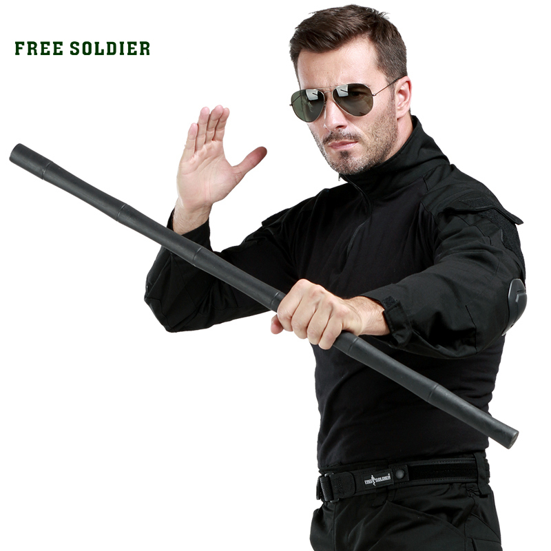 FREE SOLDIER Outdoor Sports Self defense EDC Walking Stick Trekking Poles For Men