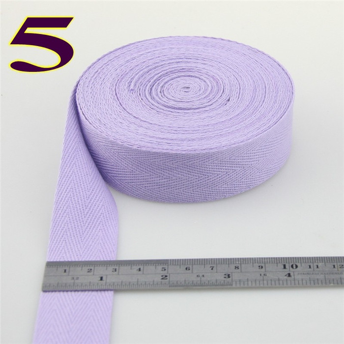 10 meter 3cm Colorful Cotton Herringbone Webbing Straps Tapes Bias Binding Tapes Patchwork Dressmaking Sewing Edge Tape in DIY Craft Supplies from Home Garden