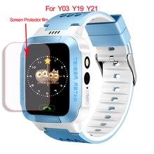 5 шт. HD Стекло Экран пленка для Q528 Y01 Y19 Y21 Y03 Z3 Детские Смарт-часы взрывозащищенные полный Экран протектор