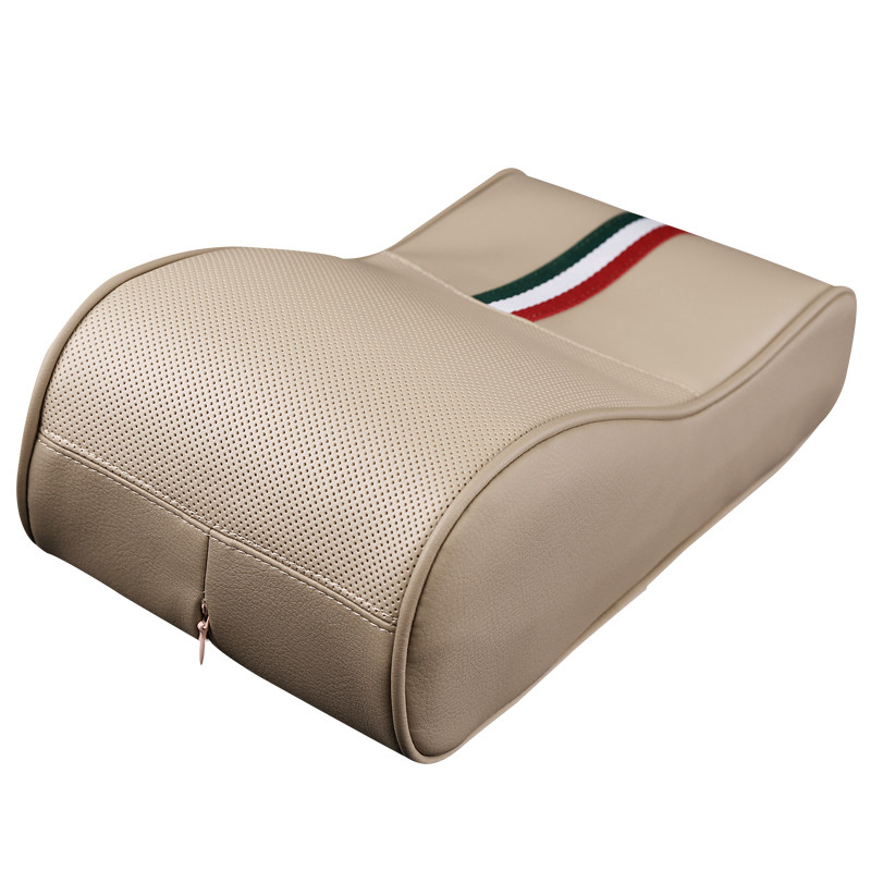 Auto Armrest Cover Memory Cotton Handrail Box Heighten Pad Car styling Decoration For AUDI FORD VW