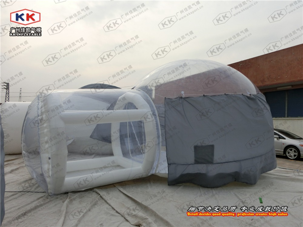 Inflatable igloo clear transparent event tent garden igloo tent for sale