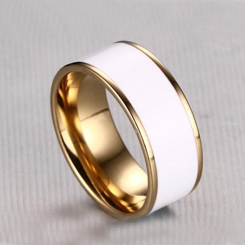 Heißer verkauf aliexpress vergoldung edelstahl ring abdeckung - Modeschmuck - Foto 3