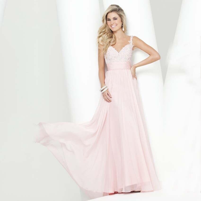 Online Get Cheap Woman Light Pink Long Dress -Aliexpress.com ...